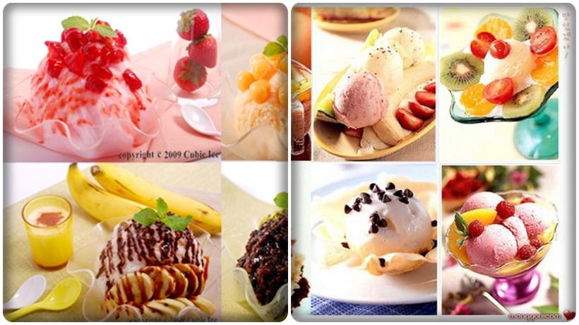các loại kem thích hợp kinh doanh quán kem mùa đông