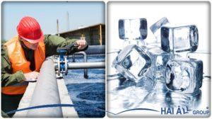 chọn nguồn nước thích hơp cho máy làm đá