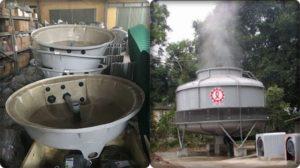 bể chứa và vận hành tháp giải nhiệt
