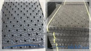 khối đệm tháp giải nhiệt của máy làm đá