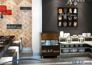 máy làm đá Hải Âu trong không gian khách sạn