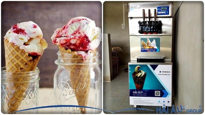 máy làm kem hải âu