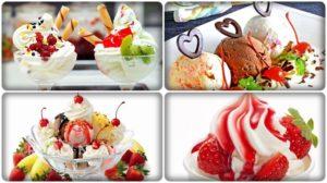 các loại kem từ máy làm kem