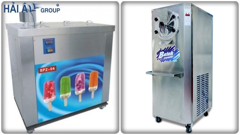 các loại máy làm kem trên thị trường